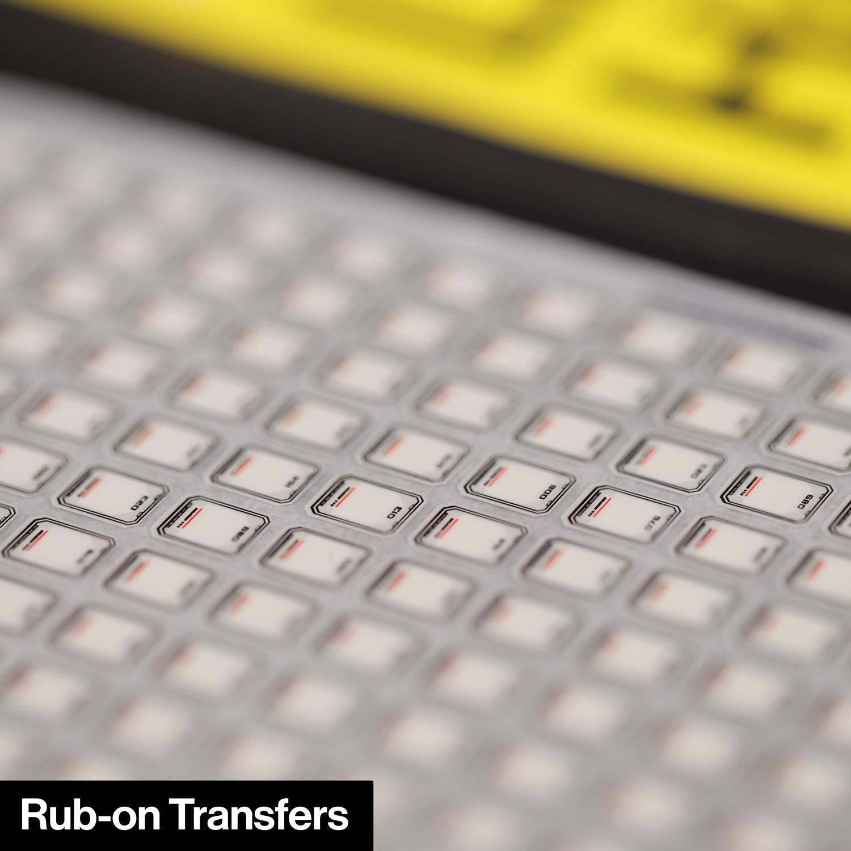 Rub-on Transfers mod for U.S.S. Enterprise NCC-1701-D